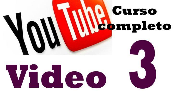 Curso ganar dinero con youtube - 3.- Cómo abrir cuentas