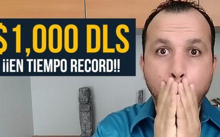 De $0 a $1,000 USD en Tiempo Record (Plan de Trabajo)   Como Ganar Dinero En Internet