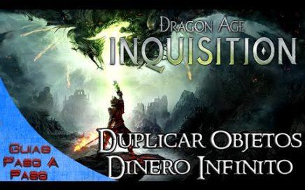 Dragon Age Inquisition | Duplicar objetos / Conseguir dinero infinito