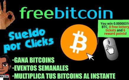 Freebitcoin Genera dinero facil y rapido   Hasta 50$ Semanales Totalmente Gratis