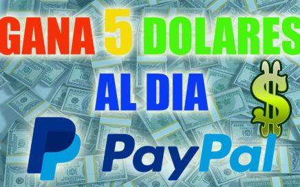 GANA 5$ x DIA + prueba de pago PAYPAL Viendo Videos de YOUTUBE 2018-2019  ganar dinero por internet