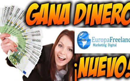 Gana Dinero con EuropaFreelancer 100 dolares semanal - Bien explicado  2017