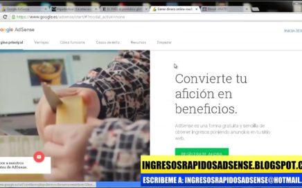 GANA DINERO CON GOOGLE ADSENSE  (100$ DIARIOS) | CURSO GOOGLE ADSENSE 2018