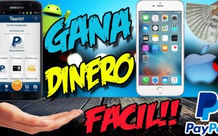 GANA DINERO EN ANDROID Y IPHONE CON TAPPORO | Dinero facil 2017