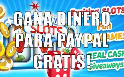 Gana Dinero Gratis Para PAYPAL Jugando! [SPINTOWIN SLOTS]! - 2018