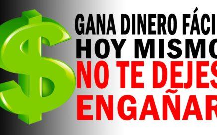 GANA DINERO HOY MISMO POR INTERNET | SIN ENGAÑOS | COMPROBADO | NO SCAM |Canovariedades
