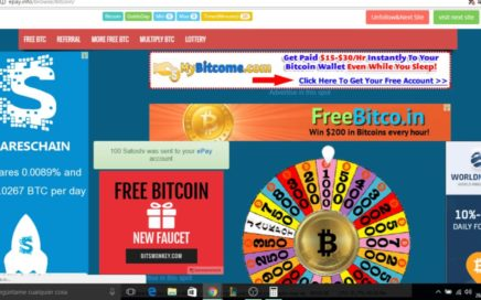 GANAR BITCOINS SIN LIMITES! REGISTRATE RAPIDO!