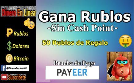 Heroes-Birds || Mineria de Rublos Sin CashPoint | Prueba de Pago | 50 Rublos por Registrarte