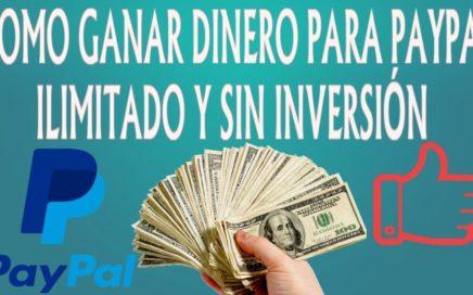 ¡IMPRESIONANTE! GANA DINERO SIN INVERTIR MINIMO DE PAGO 0,50$ - COMO GANAR DINERO PARA PAYPAL