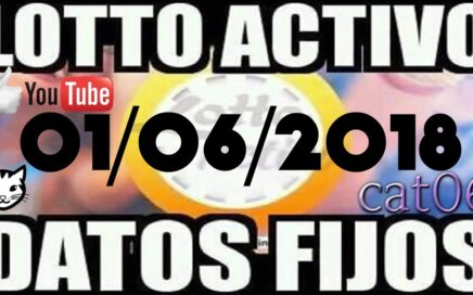 LOTTO ACTIVO DATOS FIJOS PARA GANAR  01/06/2018 cat06