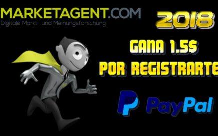 MARKETAGENT Gana dinero paypal 2018