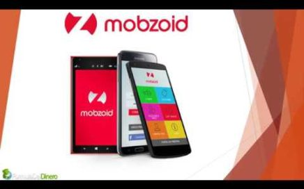 Mobzoid gana dinero con tu teléfono móvil
