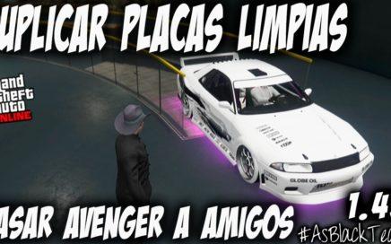 *NUEVO* - DUPLICAR COCHES PLACAS LIMPIAS - GTA 5 - PASAR AVENGER a AMIGOS - (PS4 - XBOX One)