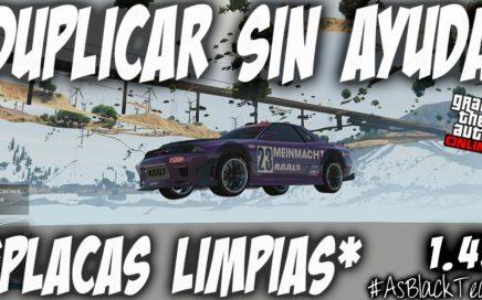 NUEVO - DUPLICAR COCHES SIN AYUDA - GTA 5 - MATRICULAS LIMPIAS - SALA INVITACION - (PS4 - XBOX One)