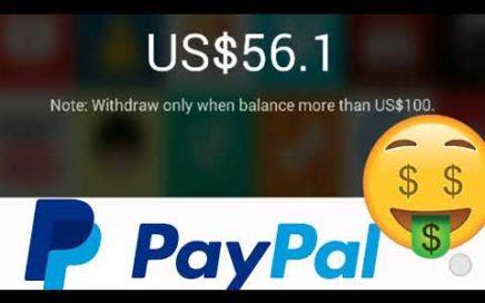 OTRA forma de cómo ganar dinero vía PayPal 2018/brutalmente Real paga 50 por días