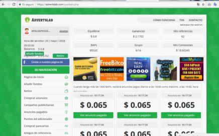 Pagina Para ganar dinero,  advertslab