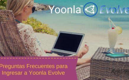Preguntas Frecuentes Respecto a Yoonla Evolve para Ganar Dinero por Internet