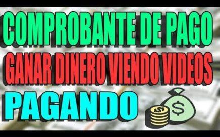 SKYLOM COMPROBANTE DE PAGO! GANAR DINERO VIENDO VIDEOS! SI PAGA!