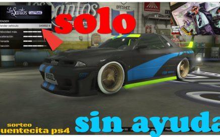 SOLO - SIN AYUDA - MATRICULAS LIMPIAS - GTA 5 - ONLINE  Y como conseguir una CUENTA CHETADA de PS4