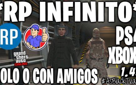 """*SOLO* - SIN AYUDA o con AMIGOS - GTA 5 - GANAR 5.000RP MInuto - """"RP INFINITO"""" - (PS4 - XBOX One)"""