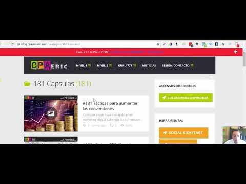 Vida777 + BONOS   Curso CPA para Vivir del Internet    Cómo Ganar Dinero con CPA 2018