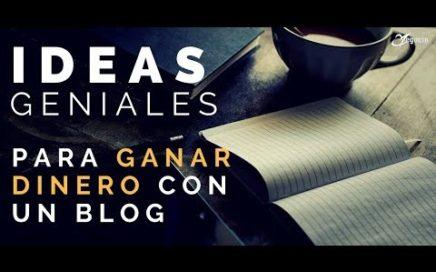 10 ideas geniales para ganar dinero con un blog