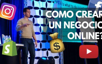 4 Pasos Como crear tu primer Negocio Online y Ganar dinero por Internet