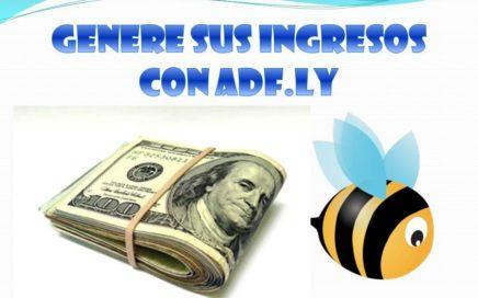 COMO GANAR DINERO CON ADFLY | GANE DINERO ACORTANDO ENLACES