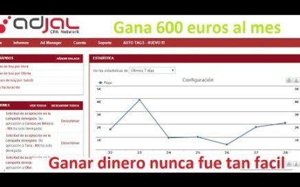 Como Ganar Dinero con Adjal parte 1 Adjal 2014 Bien Explicado