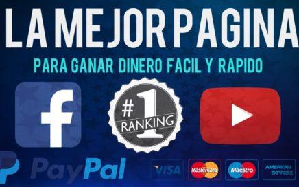 Como Ganar Dinero con FACEBOOK Y YOUTUBE   PAYPAL 2018