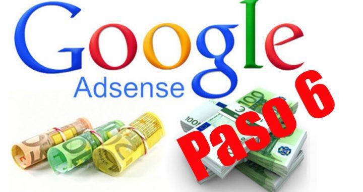 Como ganar dinero con google paso 6