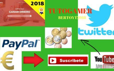 COMO GANAR DINERO CON TWITTER  FÁCIL Y RÁPIDO 2018