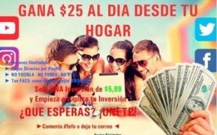 Como Ganar Dinero Desde Casa por Internet - Trabajando en Tiempo Record (2018-2019)
