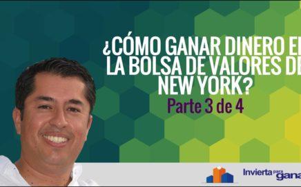 ¿Cómo Ganar Dinero En La Bolsa de Valores de New York? Parte 3 de 4