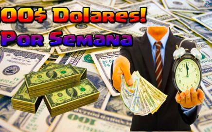 Como Ganar Dinero Facil Y Rapido 100$ Por Semana