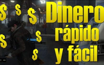 Como ganar dinero fácil y rápido en Watch Dogs | $100,000 EN MENOS DE 5 MINUTOS!!