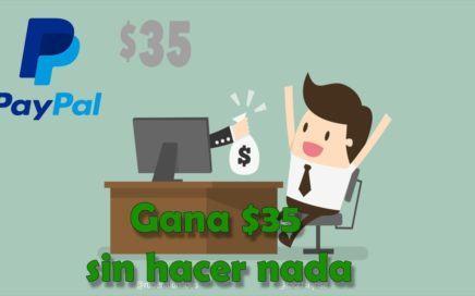 Como Ganar Dinero para tu PAYPAL | $35 | Fácil y Sencillo | Renta Cash | Comprobante de Pago