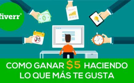 Como ganar dinero por internet - Gana tus primeros 5 dólares haciendo lo que más te gusta