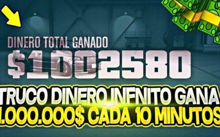 CONSEGUIR 1.000.000$ CADA 10 MINUTOS CON ESTE TRUCO DE DINERO INFINITO SIN BANEO GTA 5 ONLINE 1 43 1