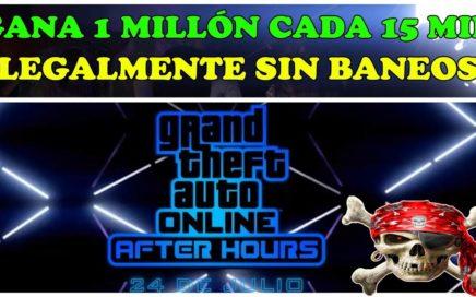 EL MEJOR TRUCO DE GTA 5 ONLINE 1.44 LEGAL SIN BANEOS  1 MILLON $$ EN 12 MINUTOS PARA POBRES