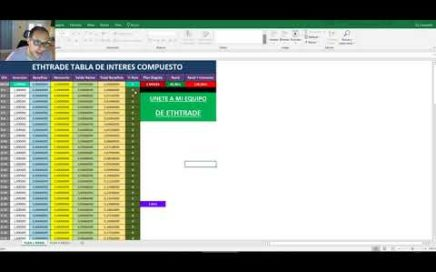 EthTrade Como Calcular Tus Ganancias Table Excel