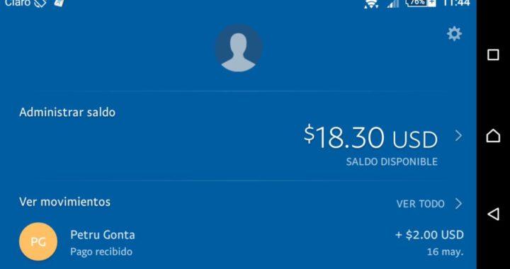 Gana Dinero con tu celular Easy Money Earn Cash - Comprobante de Pago