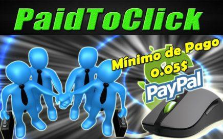 Gana Dinero Rápido y Fácil a Paypal (Cobra desde 0.05$) | PaidToClick Tutorial | Gokustian