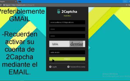 GANA DINERO RESOLVIENDO CAPTCHAS FACIL Y RAPIDO + PRUEBA DE PAGO