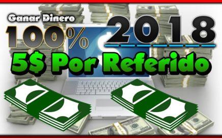 """Ganar Dinero 5$ Por Referidos 100% REAL 2018 PAYPAL """" Explicando"""""""