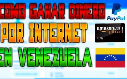 Ganar DINERO en INTERNET en VENEZUELA 2018 *Cobrar en bolivares o dolares*40 dolares semanales