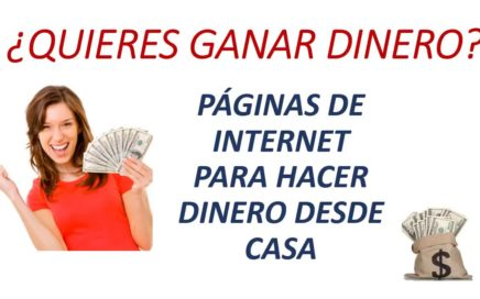 Ganar DINERO FÁCIL con INTERNET usando páginas y aplicaciones