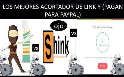 Ganar Dinero Para Paypal Acortando Enlaces / Pago/ Gana  Dinero Sin Aser Nada
