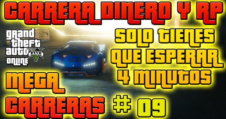 GTA V Online - RP Carrera Glitch - Ganar muchos RP y Dinero rápido - MEGA CARRERAS # 09