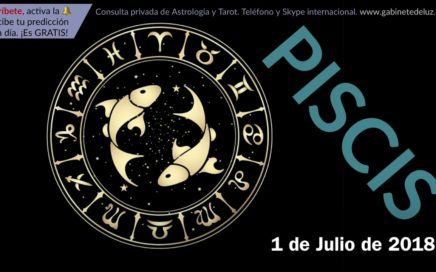 Horóscopo Diario - Piscis - 1 de Julio de 2018